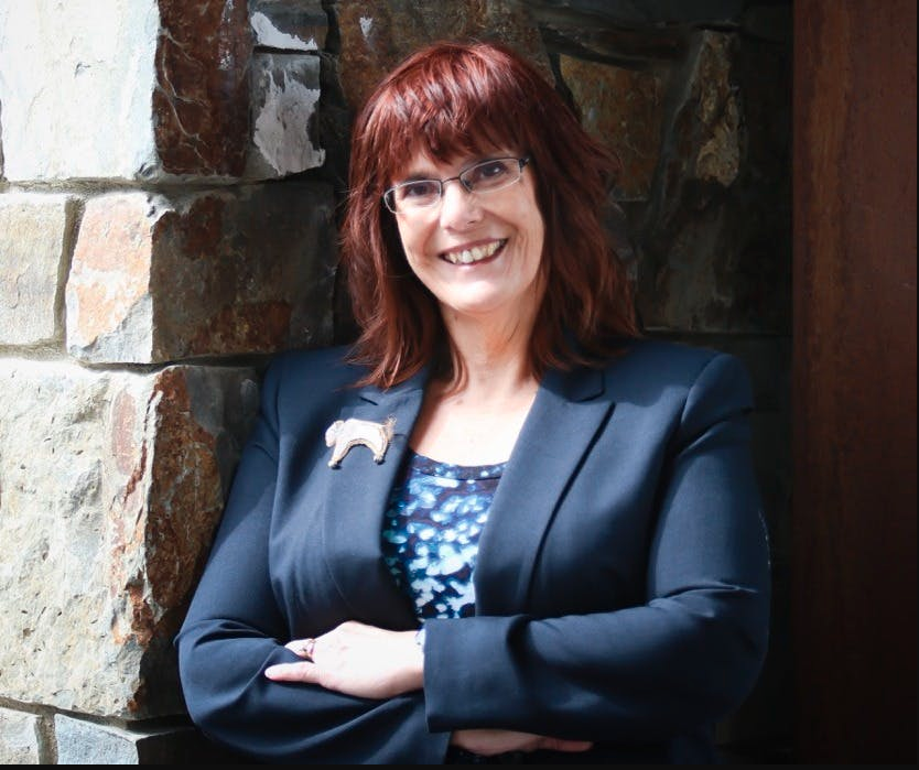 Salish Kootenai College President Sandra Boham Preps New Nursing Program, Earns AICF Award