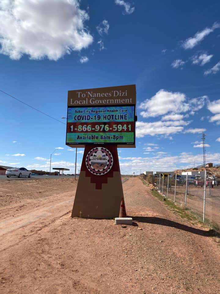 COVID-19 Navajo Naton Update: 115 Comfirmed Cases; 2 Deaths