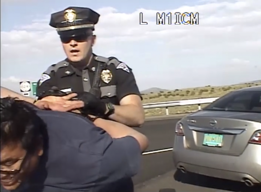 New Mexico ACLU Sues State Police for Brutalizing Native American Good Samaritan