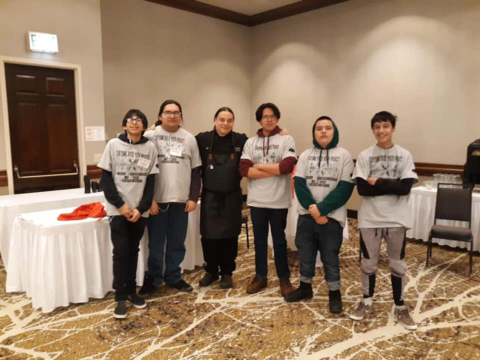 Cheyenne River Youth Project's Winter 2020 Indigenous Cooking Interns Shine at the Lakota Food Summit in Rapid City