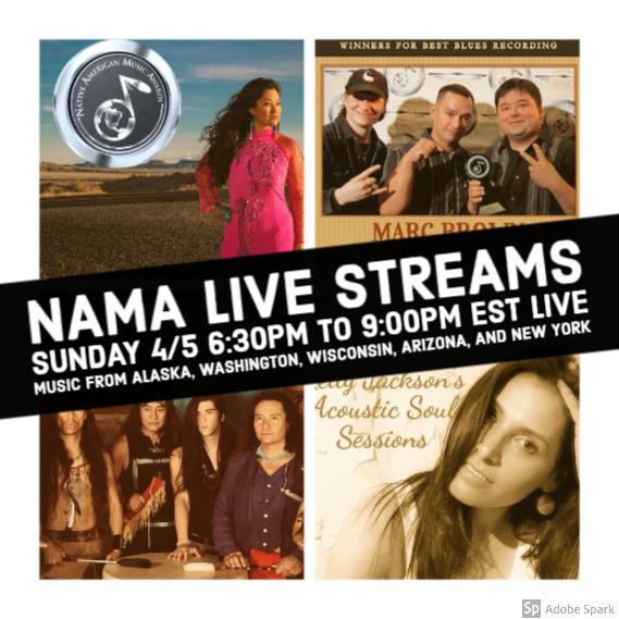 Watch Live Performances by Award-Winning Native Artists – Sunday, April 5