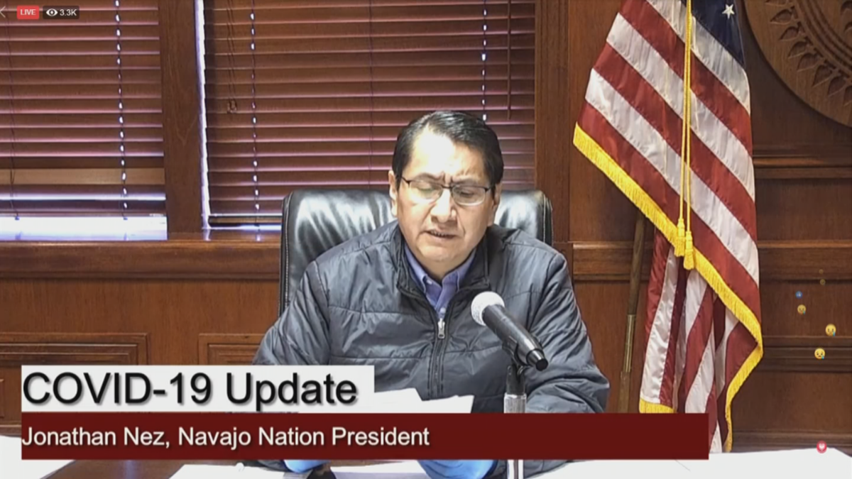 Navajo Nation Reports 76 New Cases & One More Death Related to COVID-19