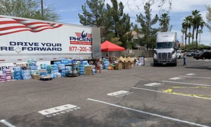 Phoenix Indian Center Delivers Three Truckloads of Donations to Navajo Nation