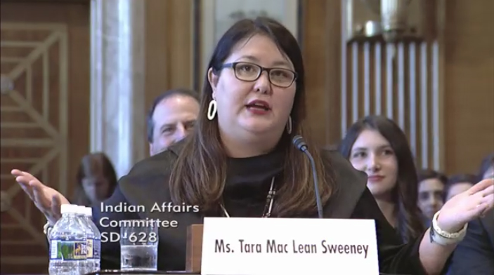 Leading National American Indian Organizations Call for Ouster of Indian Affairs Assistant Secretary Tara MacLean Sweeney