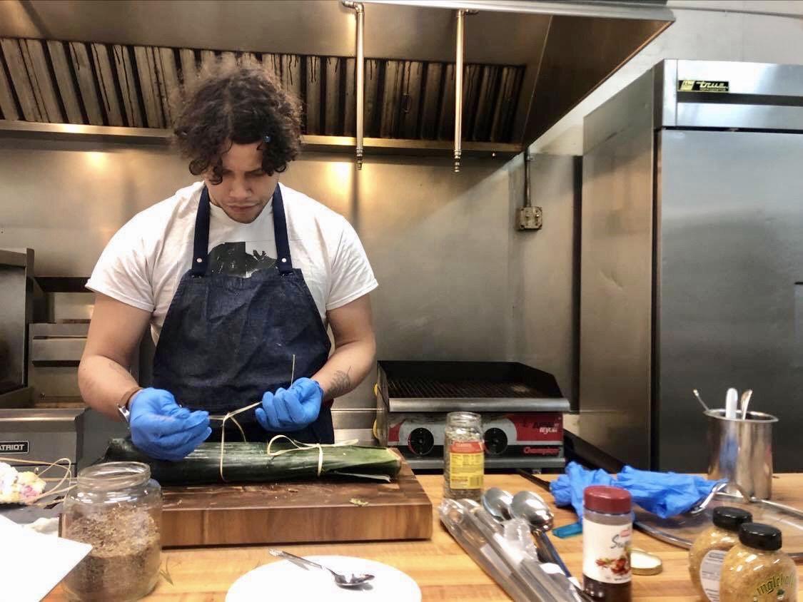 Q&A: Native Chef Camren Stott serves up culture, feeds elders