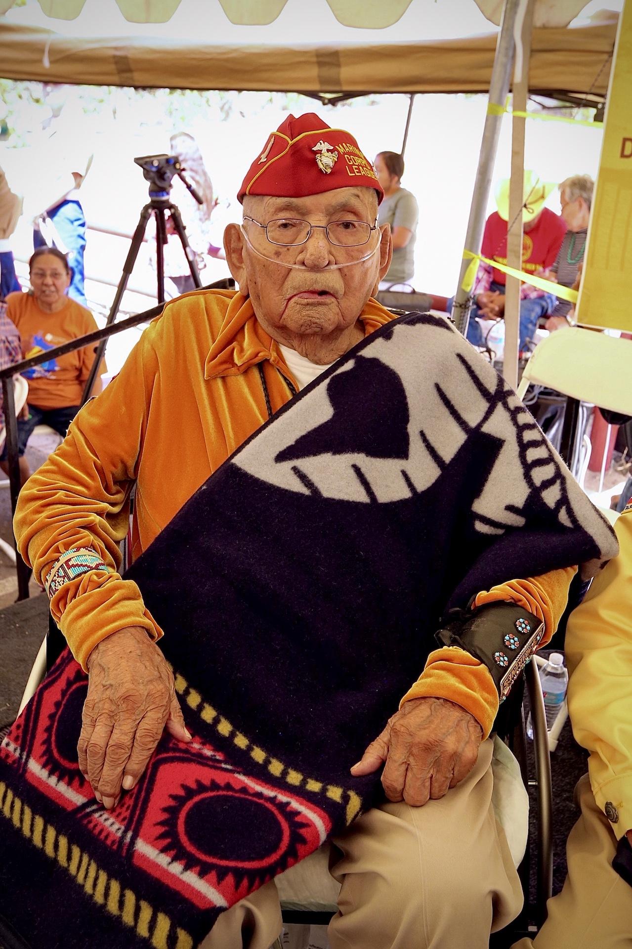 Udall Honors Navajo Code Talker Joe Vandever, Sr. in Speech in Congressional Record